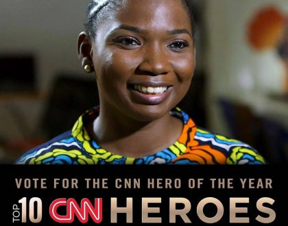 ABISOYE AJAYI-AKINFOLARIN NEEDS YOUR VOTES TO BECOME THE 2018 CNN HERO!