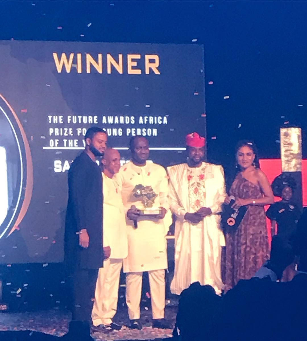 Ahmed Musa, Folu Storms, Mark Angel, Simi, others... all win at the Future Awards Africa 2018 | See Full List