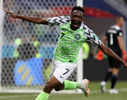 Ahmed Musa is a Goal!!!