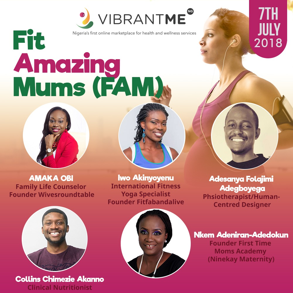 VibrantMeNG Organises Event for Pregnant Women and New Mums.