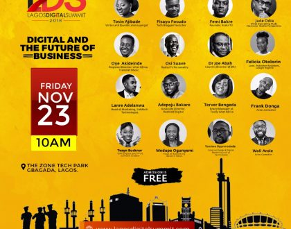 Lagos Digital Summit Set to Hold, to Empower Businesses and Individuals